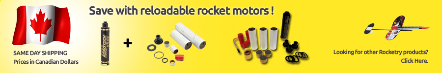 Save with reloadable rocket motors
